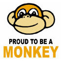 Proud To Be A Monkey T-shirt & Gift