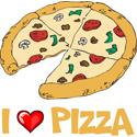 Pizza T-shirt, Pizza T-shirts