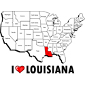I Love Louisiana