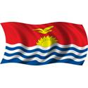 Wavy Kiribati Flag