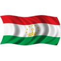 Wavy Tajikistan Flag