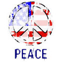Vintage Peace In America T-shirt & Gift