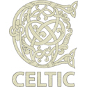 Celtic Capital Letter C