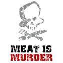 Vintage Meat Is Murder Merchandise