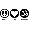 Peace Love Hinduism