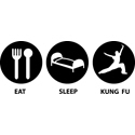 Eat Sleep Kung Fu