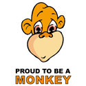 Proud To Be A Monkey Merchandise