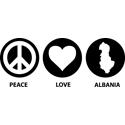 Peace Love Albania