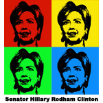 Senator Hillary Clinton T-shirts