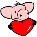 Love Pig T-shirts & Gifts