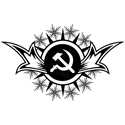 Stylized Hammer & Sickle