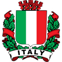 Stylish Italy Crest
