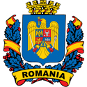 Stylish Romania Crest