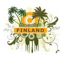 Palm Tree Finland T-shirt