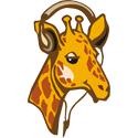 Headphone Giraffe