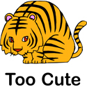 Too Cute Tiger