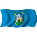 Wavy Zagreb Flag