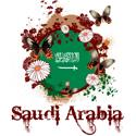 Butterfly Saudi Arabia T-shirt