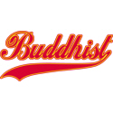 Retro Buddhist T-shirt
