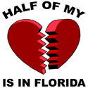 Heart In Florida T-shirts