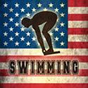 Grunge USA Swimming