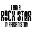 Rock Star In Afghanistan T-shirts