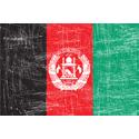 Vintage Afghanistan Flag
