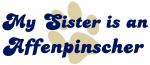 My Sister: <strong>Affenpinscher</strong>