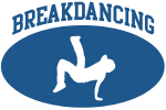 Breakdancing (blue circle)