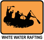 White Water Rafting (orange)