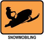 Snowmobiling (orange)