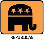 Republican (orange)