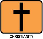 Christianity (orange)
