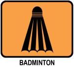 Badminton (orange)