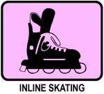Inline Skating  (pink)
