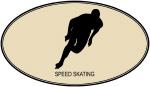 Speed Skating (euro-brown)