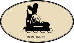 Inline Skating  (euro-brown)