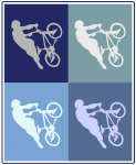 BMX (blue boxes)