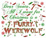 Dear Santa Furry Werewolf