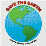 Save the Earth...except Canada