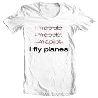 I fly planes