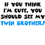 Cute twin brother