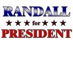 RANDALL for president