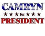 CAMRYN for president