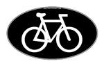 Cycling Oval B&W