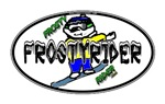 Frosty Rider Oval 1 White