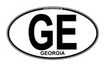 Georgia Euro Oval (plain)