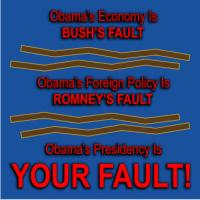 Obama's Presidency Is Your Fault!