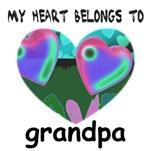MY HEART BELONGS TO GRANDPA