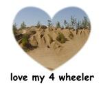 love my 4 wheeler